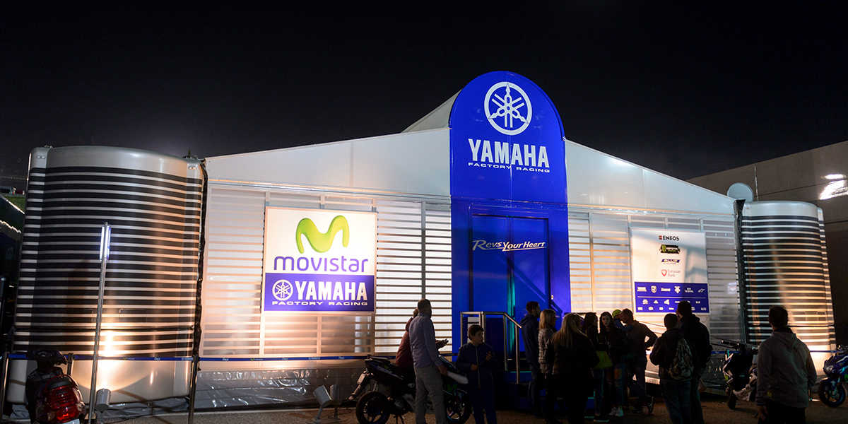 Sol & Matheson - Yamaha Racing Communications and PR - venue