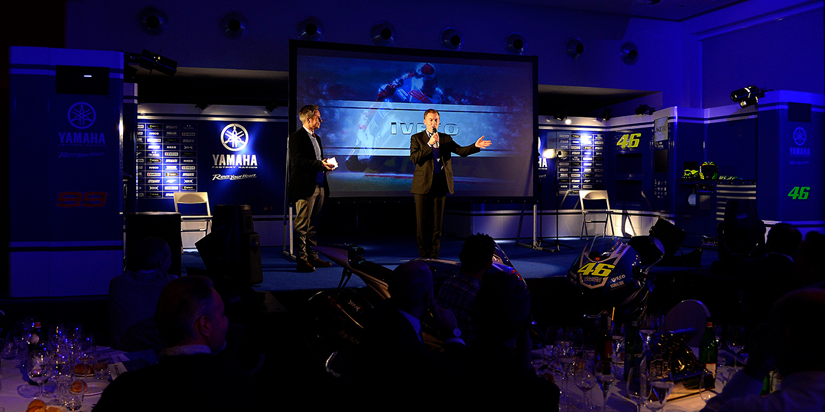 Sol & Matheson - Yamaha Racing Communications and PR - event