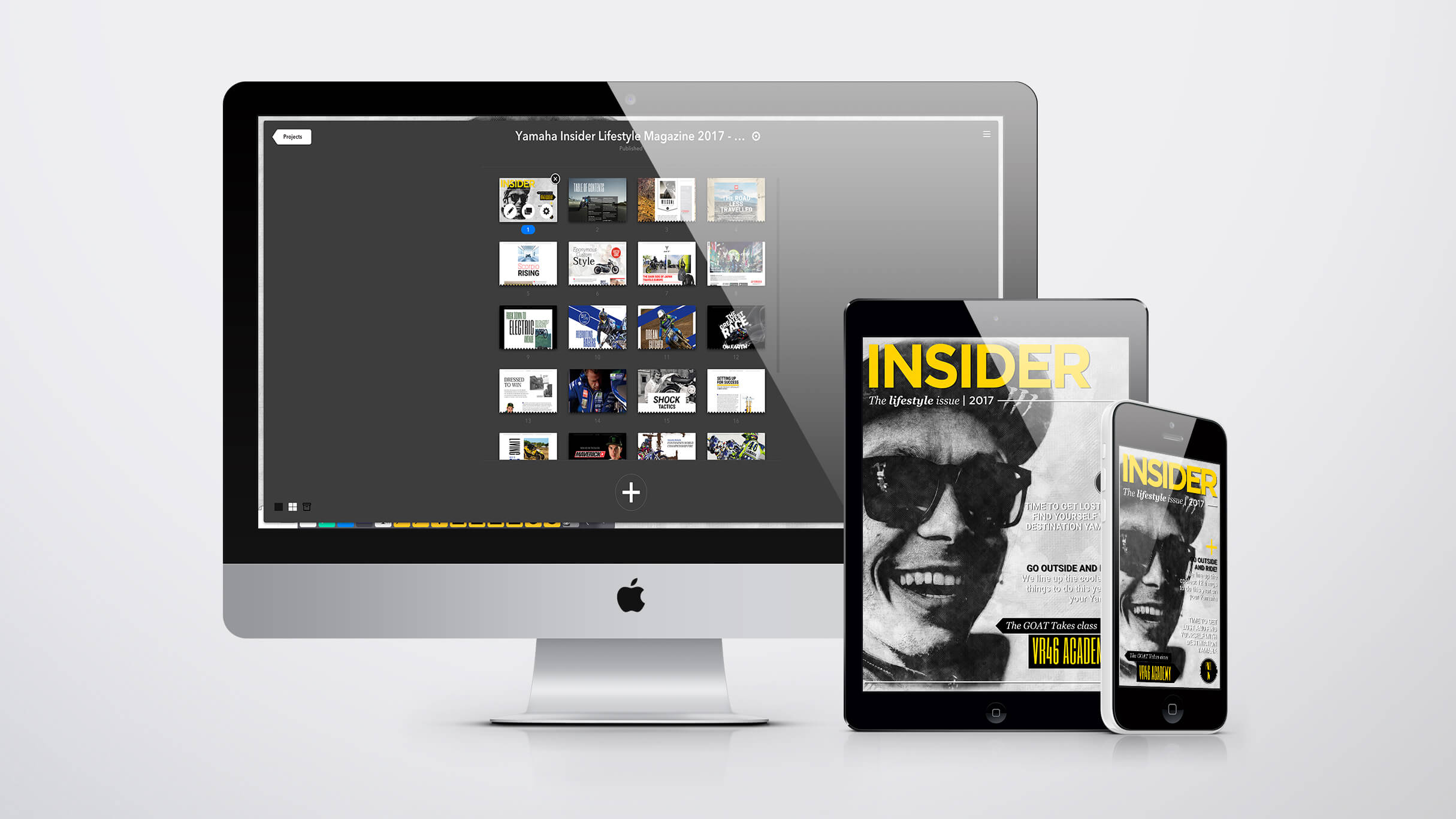 Making of Insider Lifestyle Magazine