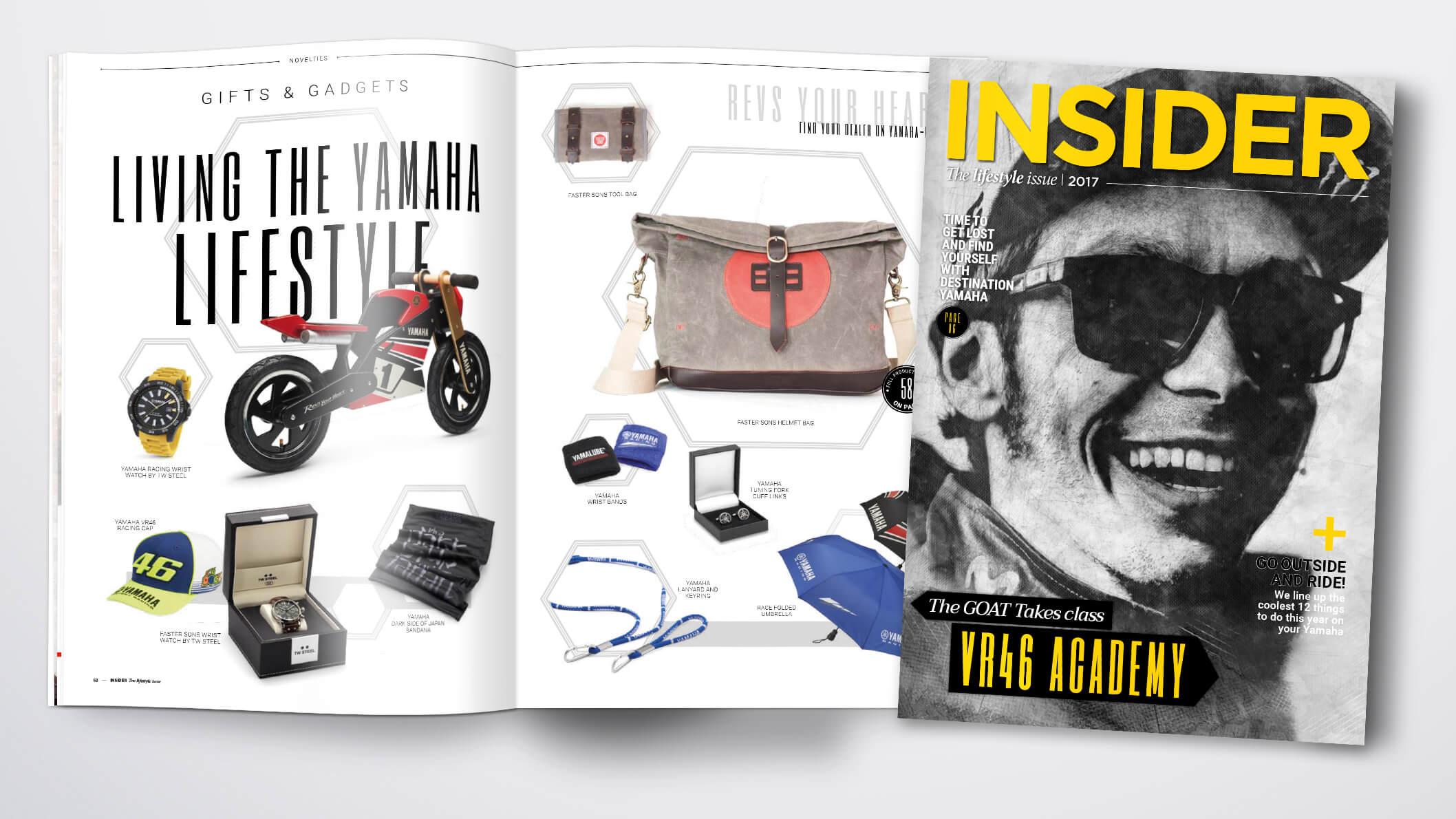 Insider Lifestyle Magazine 2017 Living the Yamaha Lifestyle